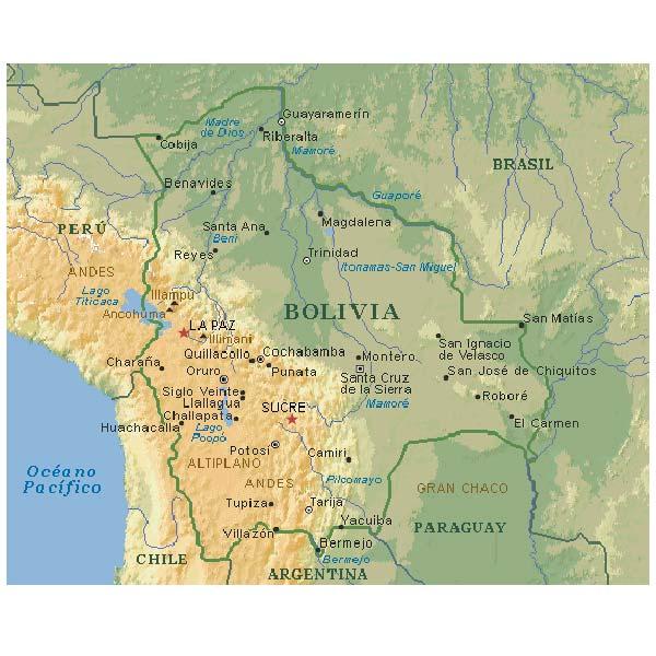Mapa De Bolivia Descarga Los Mapas De Bolivia