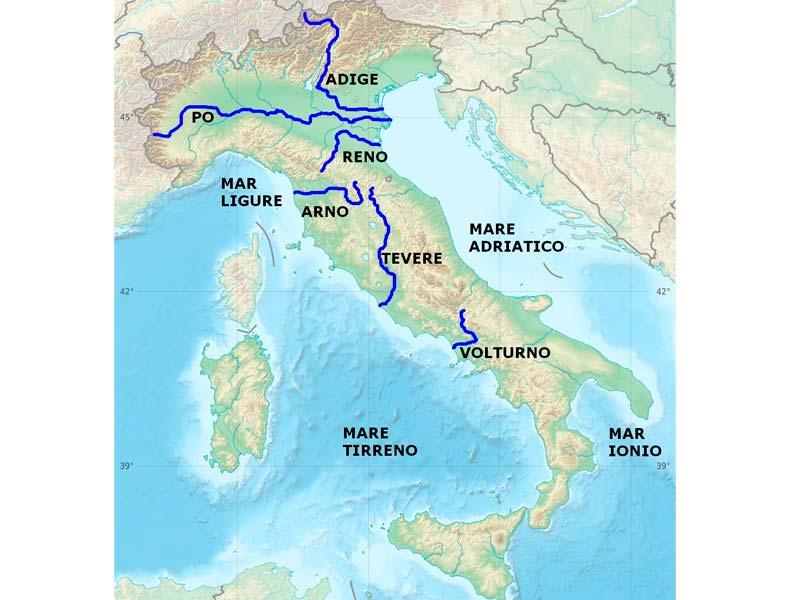 Mapa de Italia | Descarga los mapas de Italia