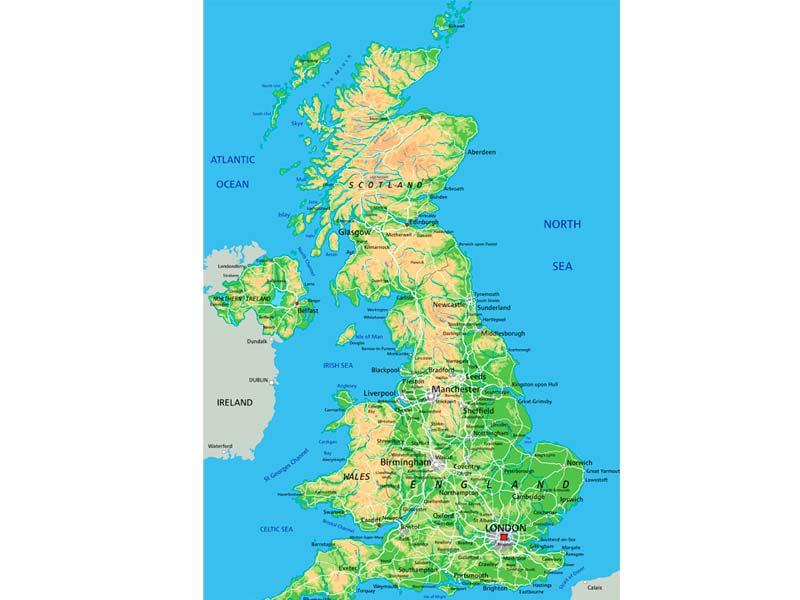 Gran Bretana Mapa Politico.Mapa De Reino Unido Descarga Los Mapas De Reino Unido