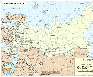 Mapa De Rusia Descarga Los Mapas De Rusia