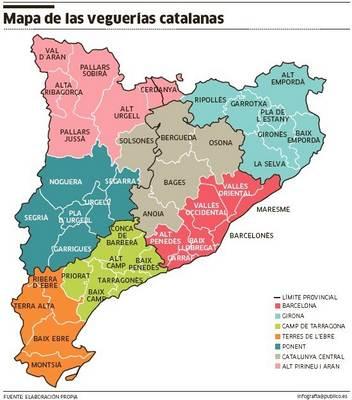 Mapa De Catalunya Provincies.Mapa De Catalunya Mas De 100 Imagenes Para Descargar E Imprimir